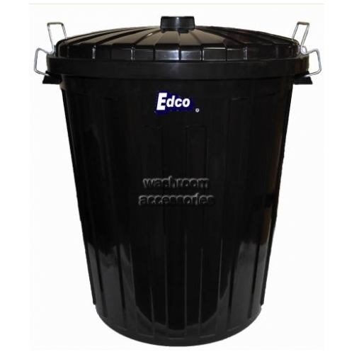 View 1919 Plastic Garbage Bin with Lid 73L details.