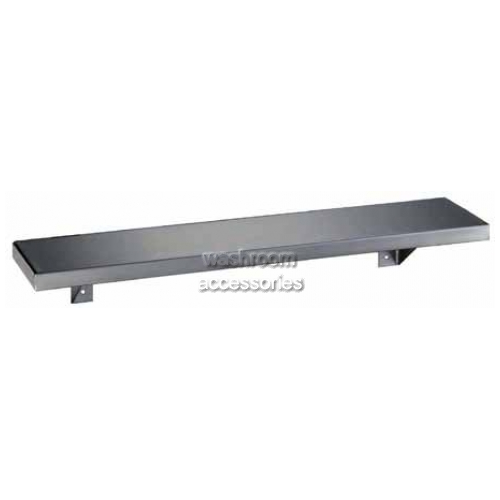 View B295 Stainless Steel Shelf details.