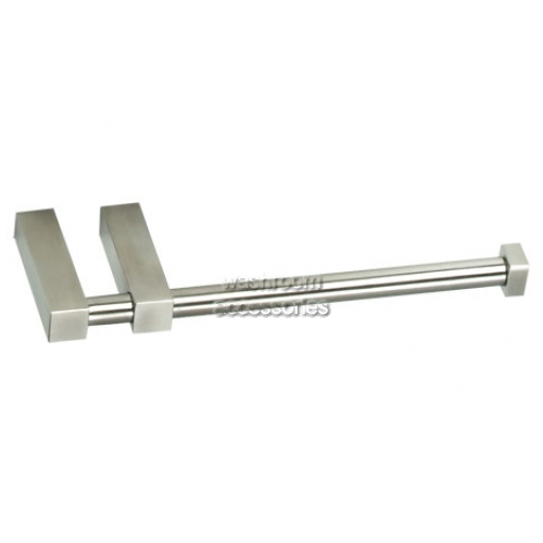 View TRH802 Single Toilet Roll Holder with Double Post details.