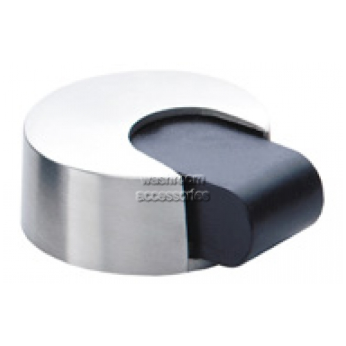 View DS101 Door Stop with Rubber Bumper, Rounded details.