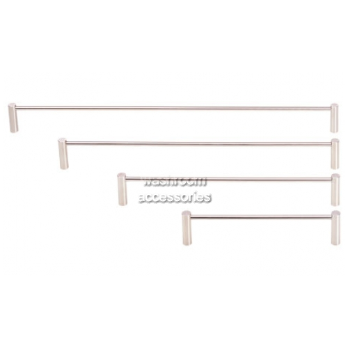 View TR1920 Towel Rail Single Round Base details.