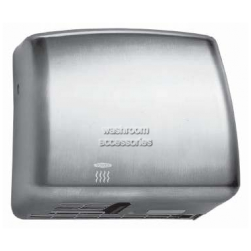 View B715E Surface Mounted Hand Dryer details.