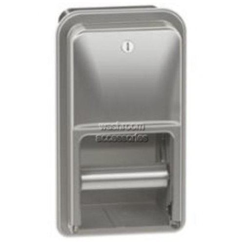 View 5A00 Toilet Tissue Dispenser Double details.