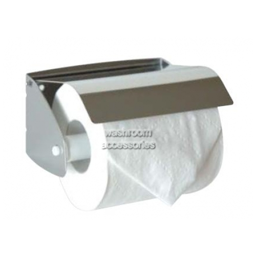 View 5041 Toilet Roll Holder, Hooded details.
