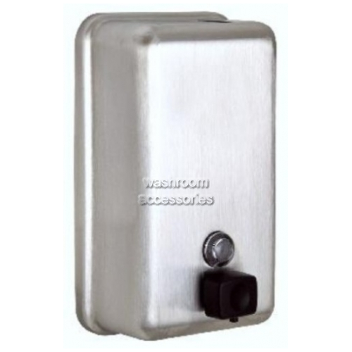 View 6562B Soap Dispenser 1.2L Vertical details.