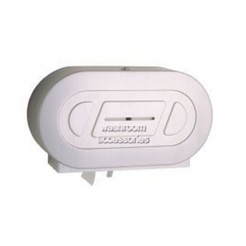 View B2892 Double Jumbo Toilet Roll Holder details.