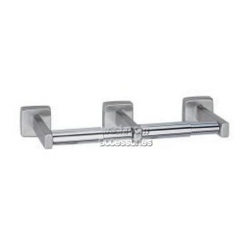 View B686 Double Toilet Roll Holder details.