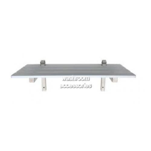 View ML993 Folding Shower Seat Stainless Steel Frame details.