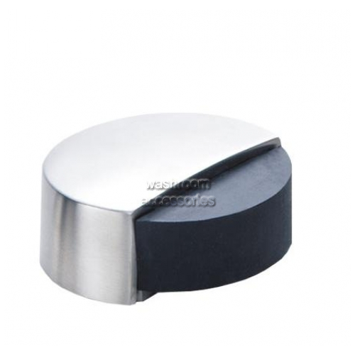 View DS102 Round Door Stop with Rubber Bumper, Floor Mount details.