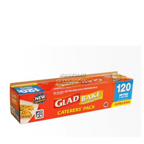 View BW120/6 Glad Bake Non-Stick Baking Paper details.