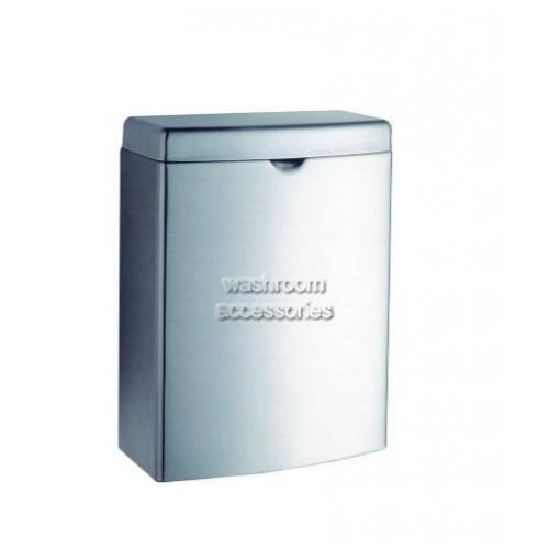 View B270 Sanitary Napkin Disposal Bin 4L details.
