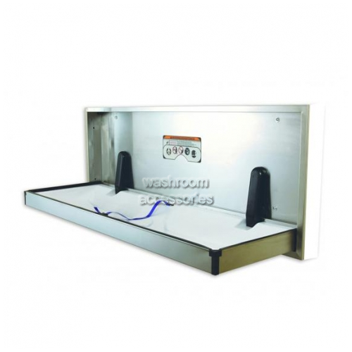 View ECP Extended Change Table Horizontal Full Stainless Steel details.