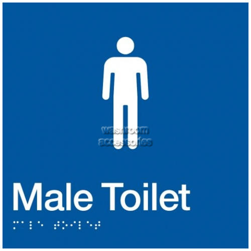 View MT Male Toilet Sign details.