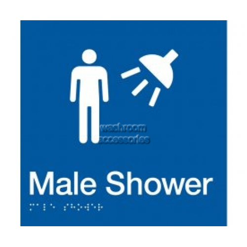 View Male Shower Sign details.