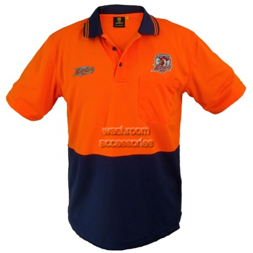 View Hi-Vis Short Sleeve Polo Orange details.