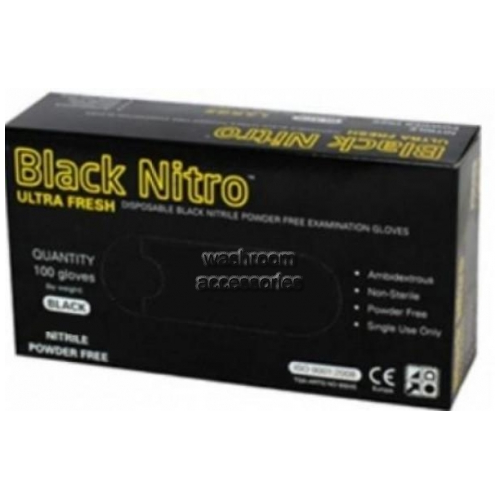 View NITRO  Disposable Gloves, Powder Free, Nitrile, Large details.