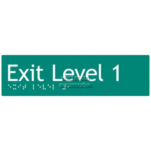 View EL1 Braille Exit Signs Level 1 details.