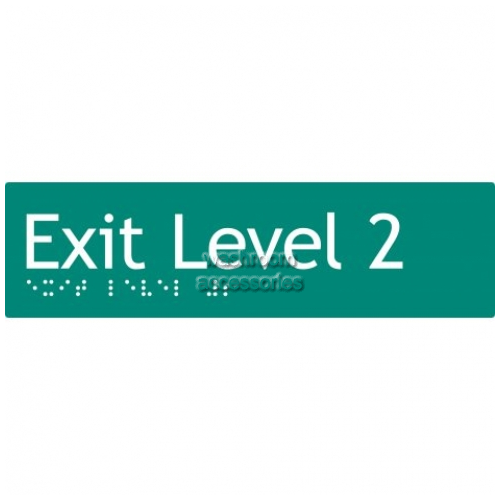 View EL2 Braille Exit Sign Level 2 details.
