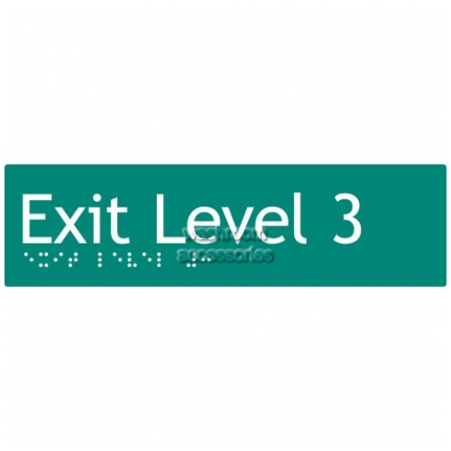 View EL3 Braille Exit Sign Level 3 details.