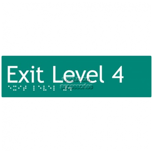 View EL4 Braille Exit Sign Level 4 details.