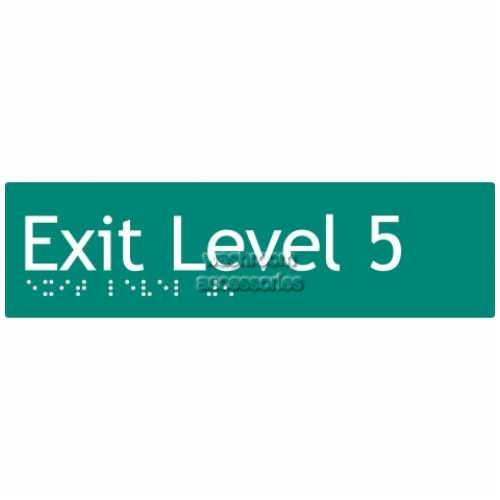 View EL5 Braille Exit Sign Level 5 details.