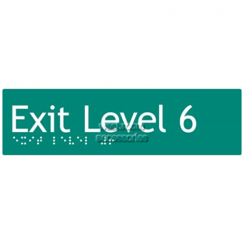 View EL6 Braille Exit Sign Level 6 details.