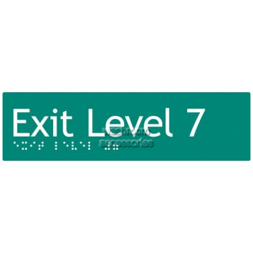 View EL7 Braille Exit Sign Level 7 details.