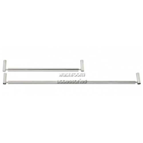 View TR7909 Towel Rail Single Rounded Base details.