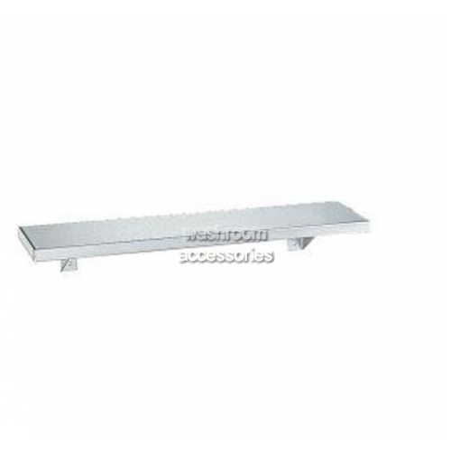 View B298 Stainless Steel Shelf details.