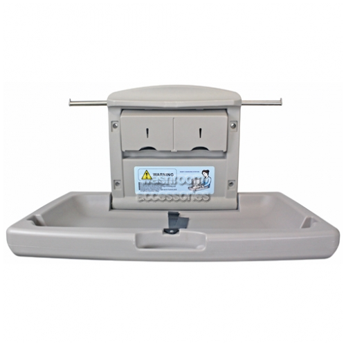 View BBR-004 Baby Change Table Horizontal details.