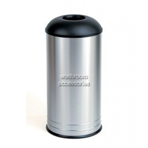 View B2300 Waste Receptacle 68L Dome Lid details.