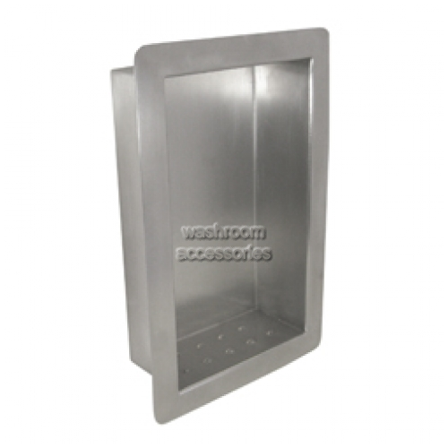 View ML236 Soap and Shampoo Holder/Shelf Recessed details.
