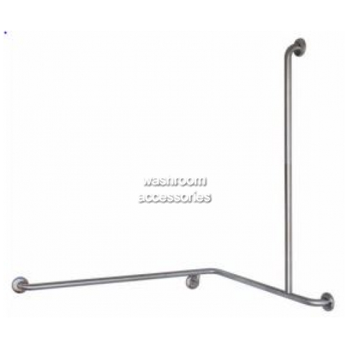 View GEC-1 Shower Grab Rail Combination Horizontal and Vertical details.
