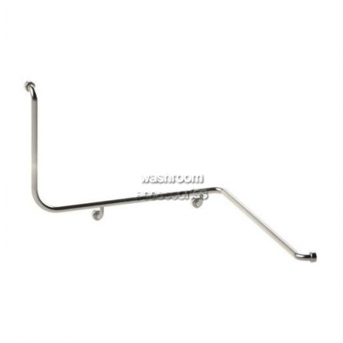 View HYGIENIC SEAL Corner Toilet Grab Rail Right Hand details.