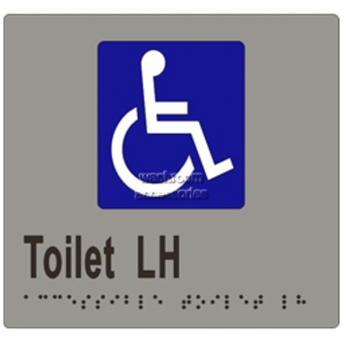 View ML16270 Braille Sign, Accessible Toilet LH Transfer details.