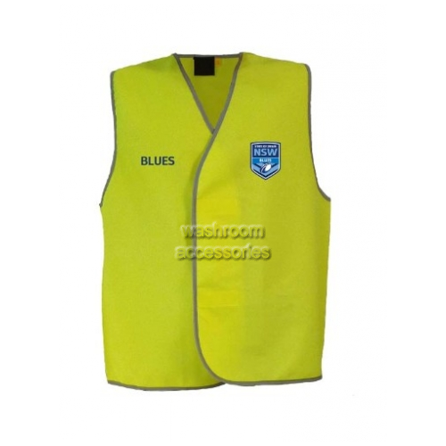 View NSW Blues Hi-Vis Light Weight Vest Yellow details.