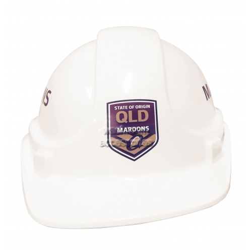 View QLD Maroons Hard Hat details.