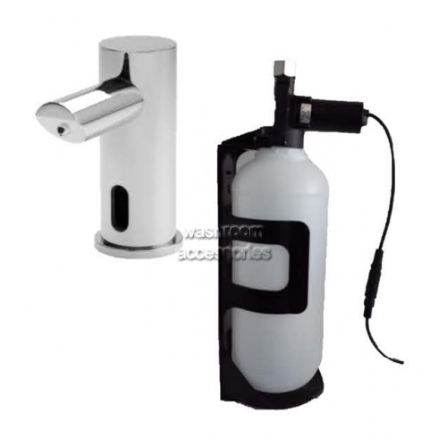 View 10-0391-3AC Vanity Mounted Soap Dispenser details.