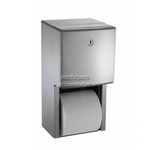 View 20030 Double Toilet Roll Holder Surface Mounted details.