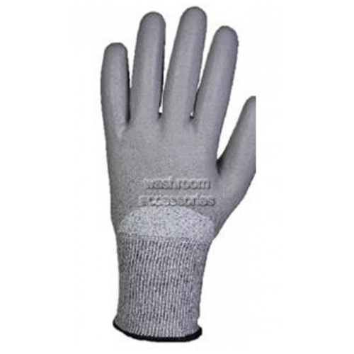 View G60 Cut Resistant Gloves Light and Dark Grey details.
