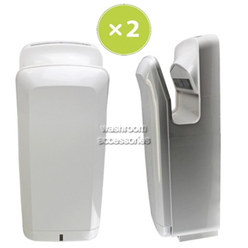 View Set of 2 Jet Hand Dryers details.