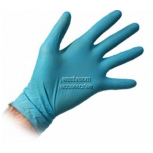 View Disposable Gloves, Powder Free, Nitrile, Large details.
