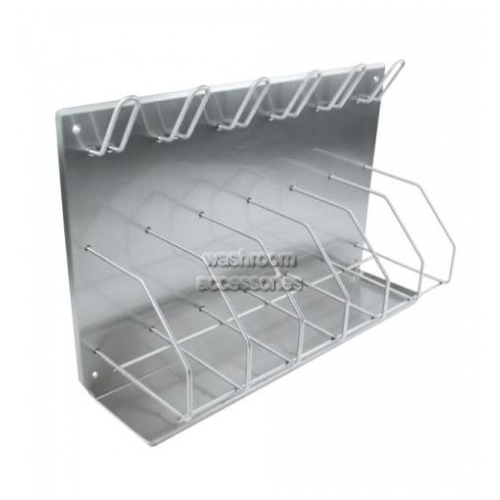 View 9906 Bedpan Bottle Rack with Drip Tray details.