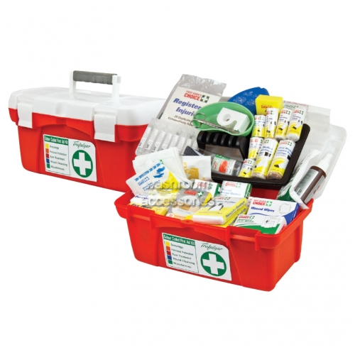 View National Workplace Portable Polypropylene Case Kit details.