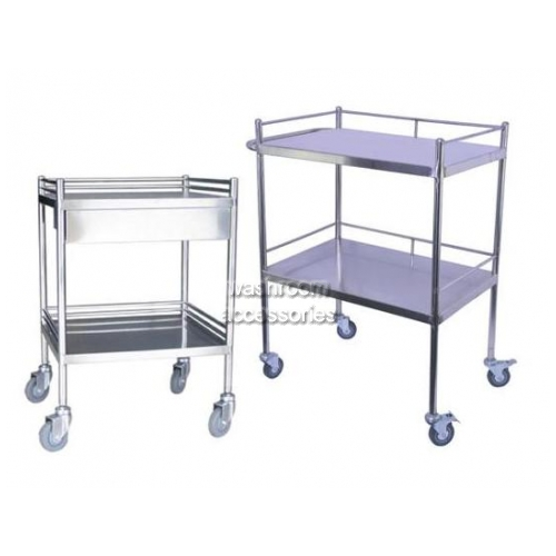 View Dressing Trolley Stainless Steel details.