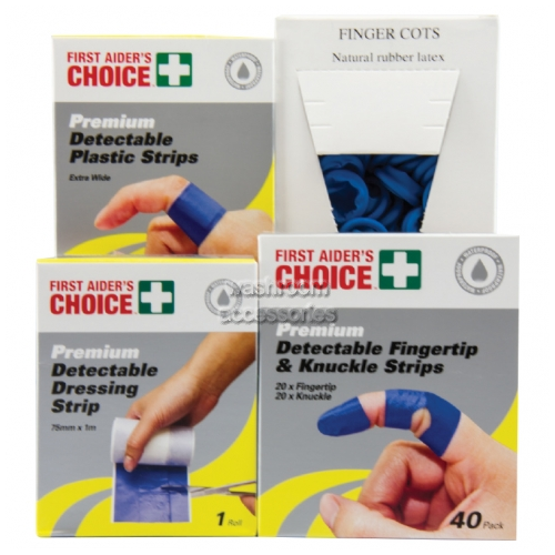 View Blue Detectable Wound Pack details.