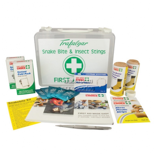View Snake Bite and Insect Stings First Aid KIt details.
