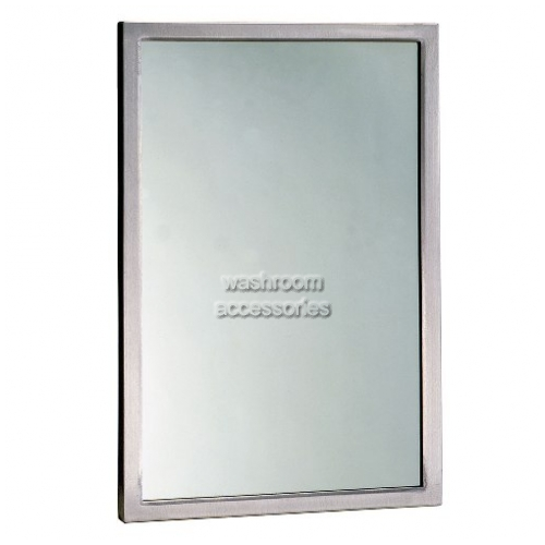 View B290 Glass Mirror with Beveled Frame details.