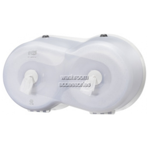 View 472028 Toilet Roll Dispenser Twin Mini Wave details.