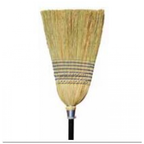 View 10190 Millet Broom with Handle 7 Tie details.